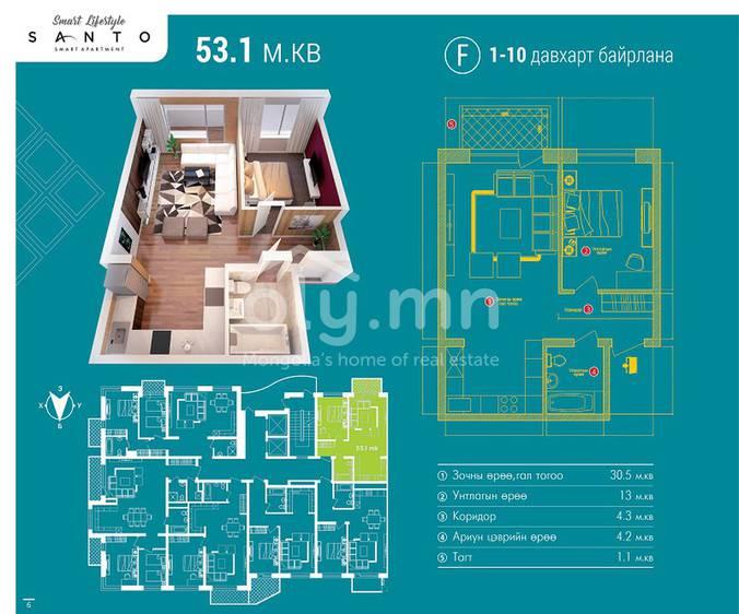 ID 146, Khoroo 26 байршилд for sale зарын residential Apartment төсөл 1