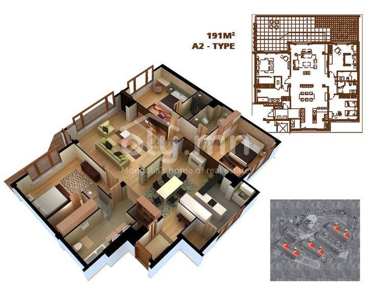 ID 65, Khoroo 11 байршилд for sale зарын residential Apartment төсөл 1