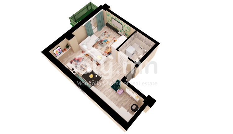 ID 441, Khoroo 27 байршилд for sale зарын residential Apartment төсөл 1
