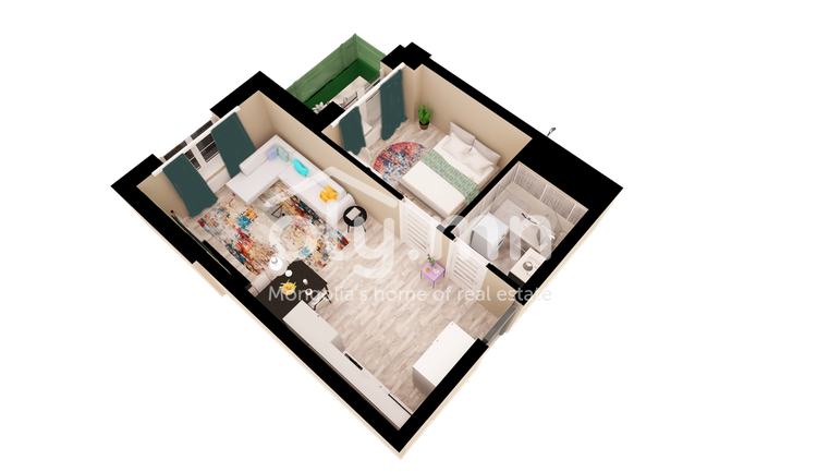 ID 436, Khoroo 27 байршилд for sale зарын residential Apartment төсөл 1