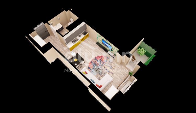 ID 442, Khoroo 27 байршилд for sale зарын residential Apartment төсөл 1