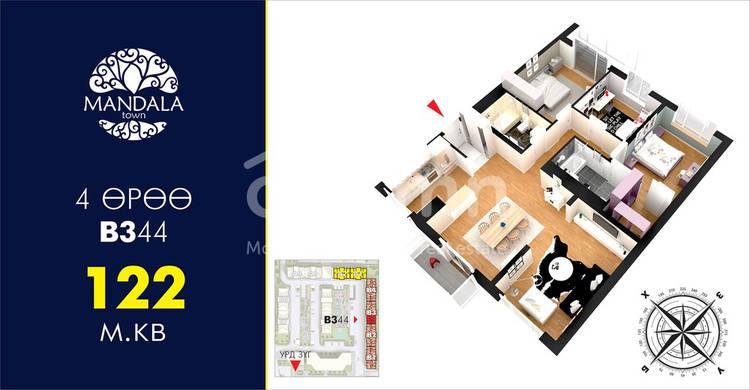 ID 101, Khoroo 26 байршилд for sale зарын residential Apartment төсөл 1