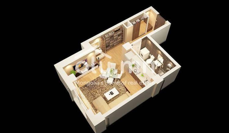 ID 491, Khoroo 3 байршилд for sale зарын residential Apartment төсөл 1