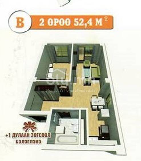 ID 453, Khoroo 19 байршилд for sale зарын residential Apartment төсөл 1