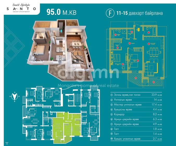 ID 470, Khoroo 26 байршилд for sale зарын residential Apartment төсөл 1