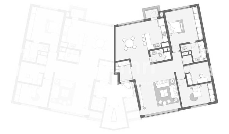 ID 119, Khoroo 11 байршилд for rent зарын residential Apartment төсөл 1