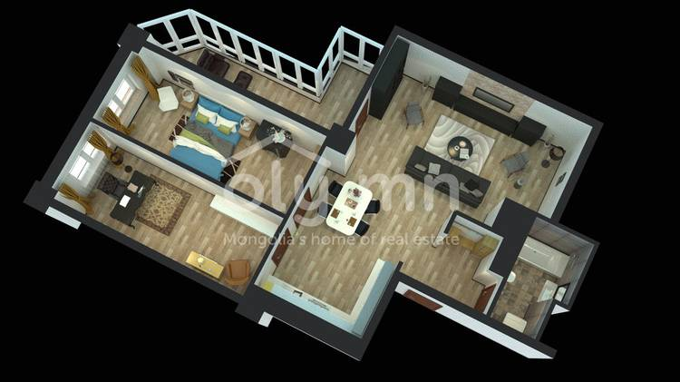 ID 424, Khoroo 26 байршилд for sale зарын residential Apartment төсөл 1