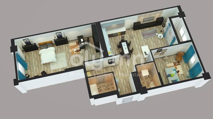 ID 425, Khoroo 26 байршилд for sale зарын residential Apartment төсөл 1