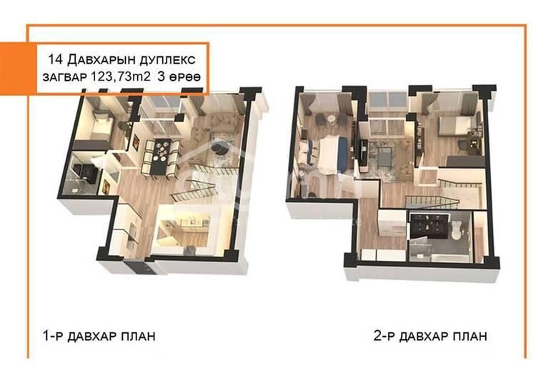 ID 782, Khoroo 14 байршилд for sale зарын residential Apartment төсөл 1
