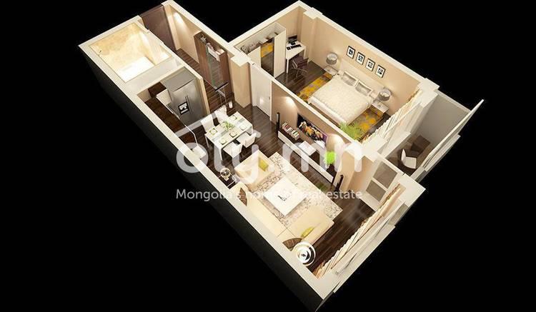 ID 666, Khoroo 3 байршилд for sale зарын residential Apartment төсөл 1