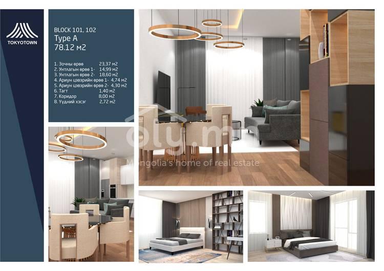 ID 1497, Khoroo 10 байршилд for sale зарын residential Apartment төсөл 1