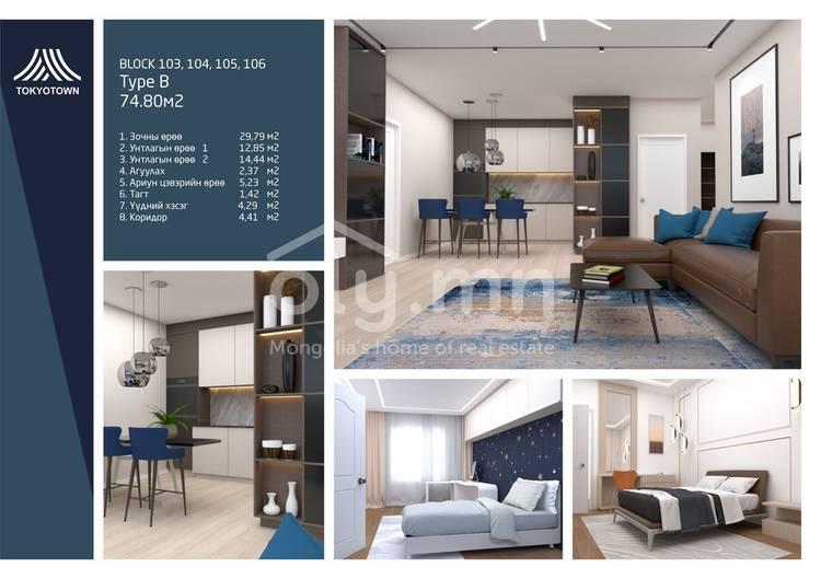ID 1496, Khoroo 10 байршилд for sale зарын residential Apartment төсөл 1