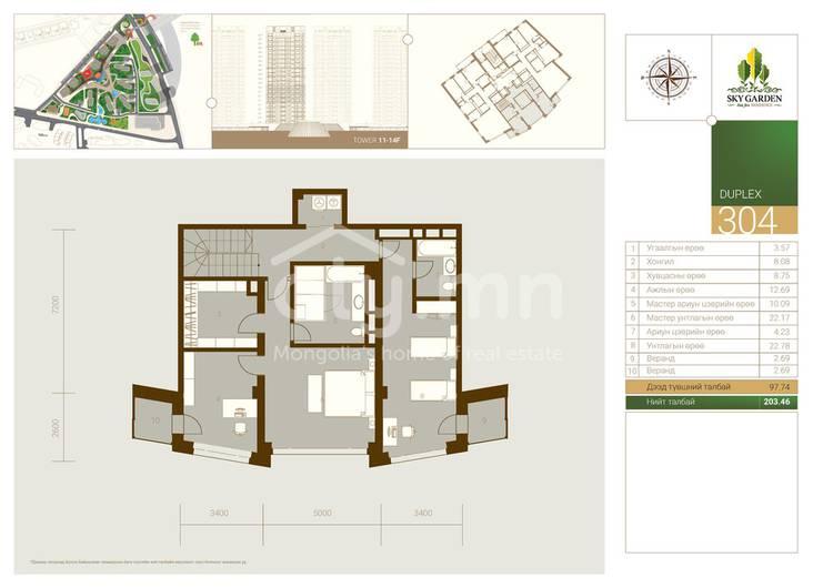 ID 1477, Khoroo 11 байршилд for rent зарын residential Apartment төсөл 1