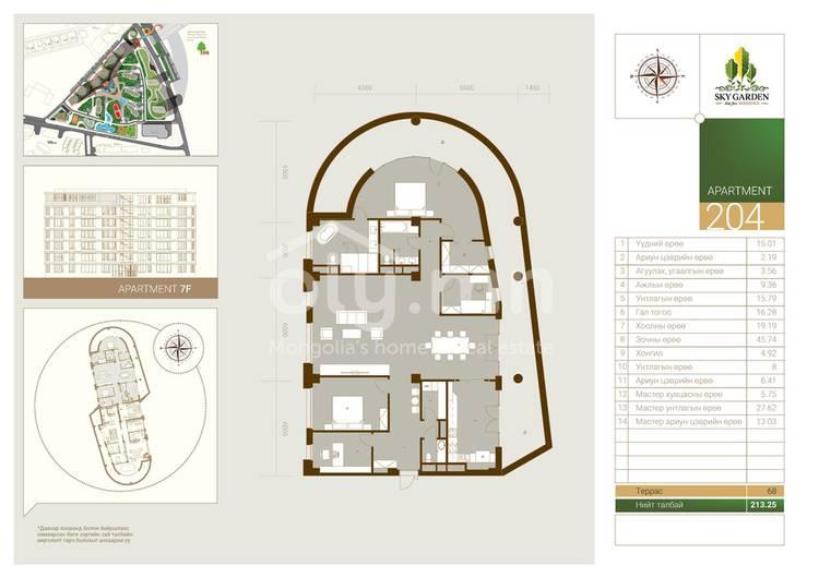 ID 1473, Khoroo 11 байршилд for rent зарын residential Apartment төсөл 1