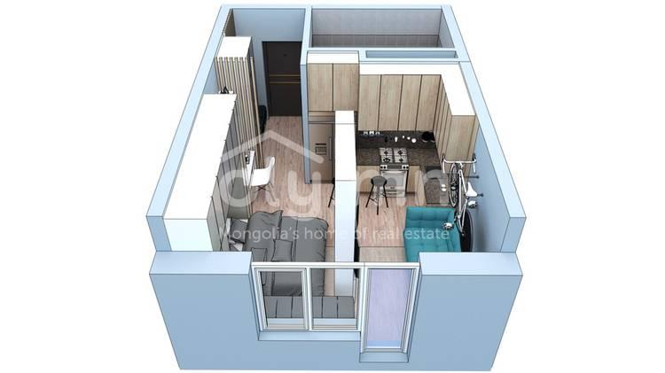 ID 1626, Khoroo 4 байршилд for sale зарын residential Apartment төсөл 1