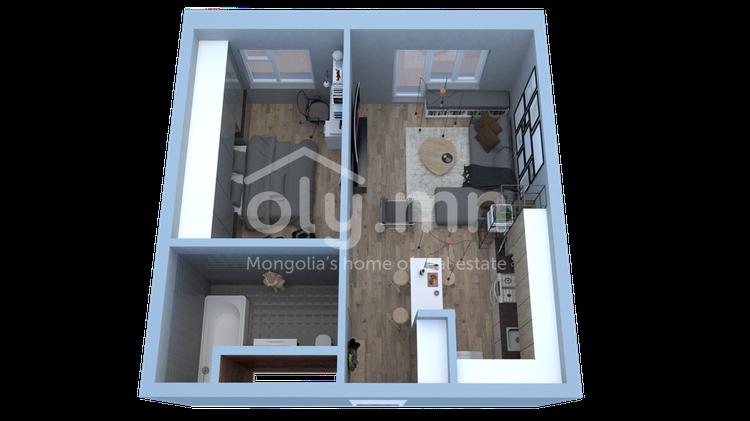 ID 1629, Khoroo 4 байршилд for sale зарын residential Apartment төсөл 1