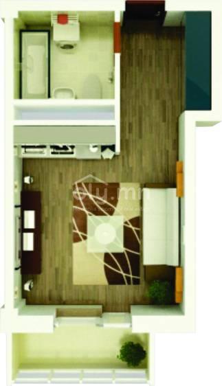 ID 1752, Khoroo 6 байршилд for sale зарын residential Apartment төсөл 1