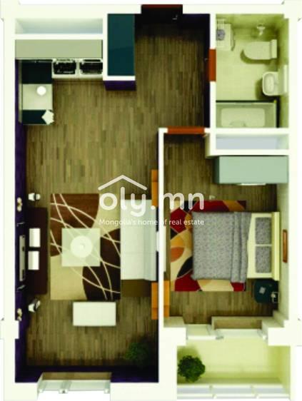 ID 1754, Khoroo 6 байршилд for sale зарын residential Apartment төсөл 1