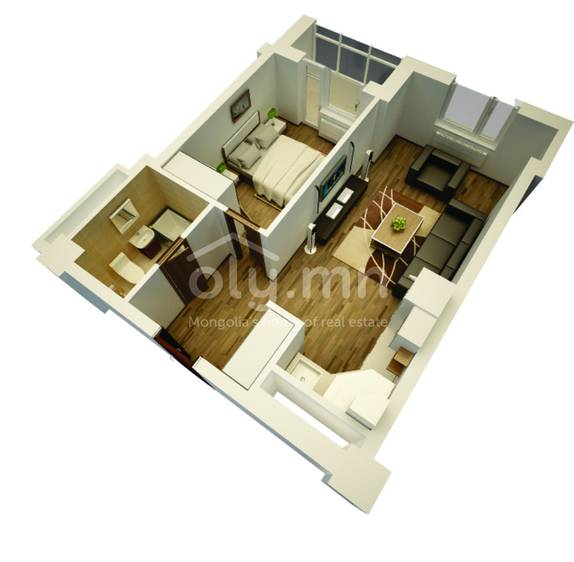 ID 1758, Khoroo 6 байршилд for sale зарын residential Apartment төсөл 1