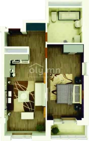 ID 1760, Khoroo 6 байршилд for sale зарын residential Apartment төсөл 1
