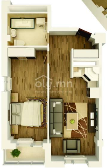 ID 1761, Khoroo 6 байршилд for sale зарын residential Apartment төсөл 1