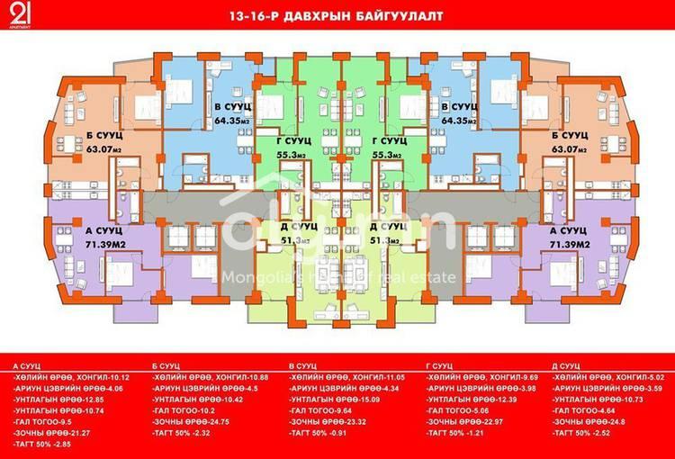 ID 2191, Songino Khairkhan байршилд for sale зарын residential Apartment төсөл 1