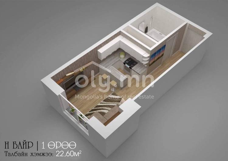 ID 2269, Khoroo 8 байршилд for sale зарын residential Apartment төсөл 1
