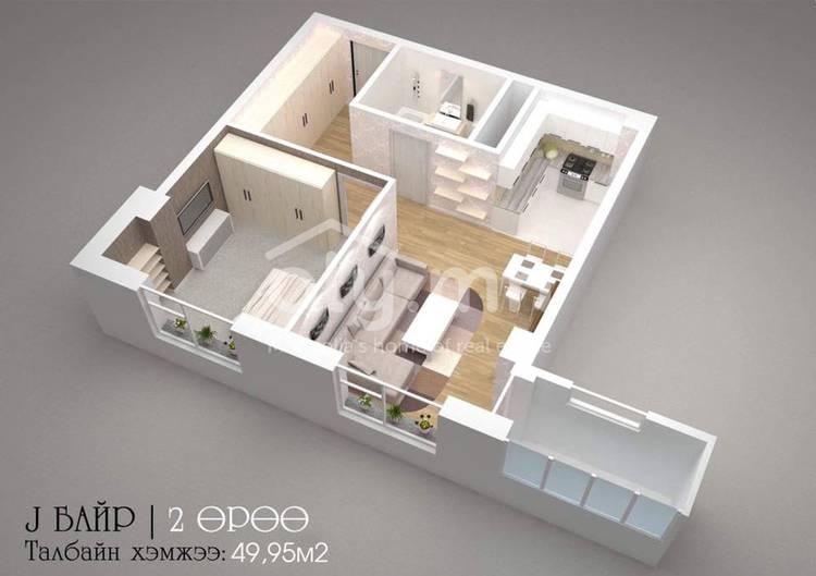 ID 2291, Khoroo 8 байршилд for sale зарын residential Apartment төсөл 1