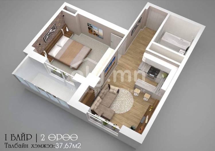 ID 2271, Khoroo 8 байршилд for sale зарын residential Apartment төсөл 1