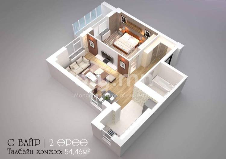 ID 2273, Khoroo 8 байршилд for sale зарын residential Apartment төсөл 1