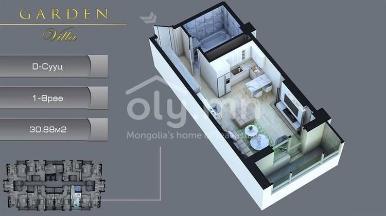 ID 2293, Khoroo 6 байршилд for sale зарын residential Apartment төсөл 1