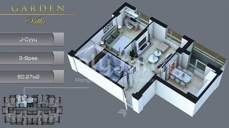 ID 2296, Khoroo 6 байршилд for sale зарын residential Apartment төсөл 1