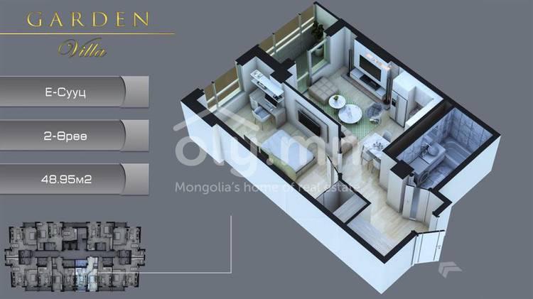 ID 2292, Khoroo 6 байршилд for sale зарын residential Apartment төсөл 1