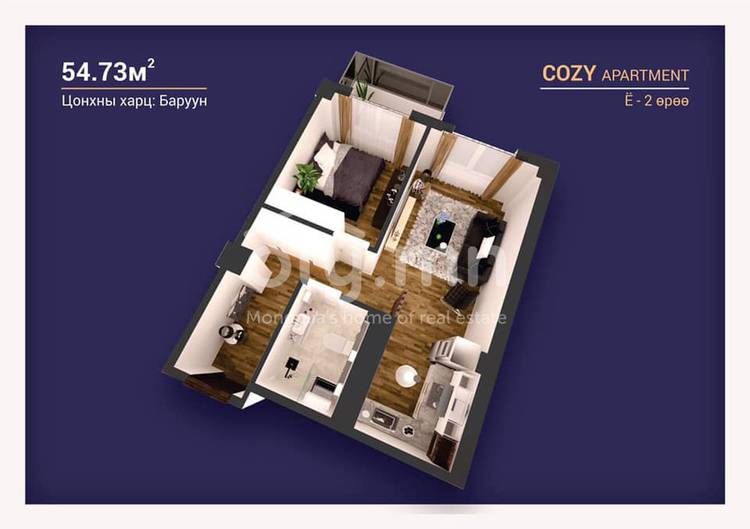 ID 2244, Khoroo 3 байршилд for sale зарын residential Apartment төсөл 1