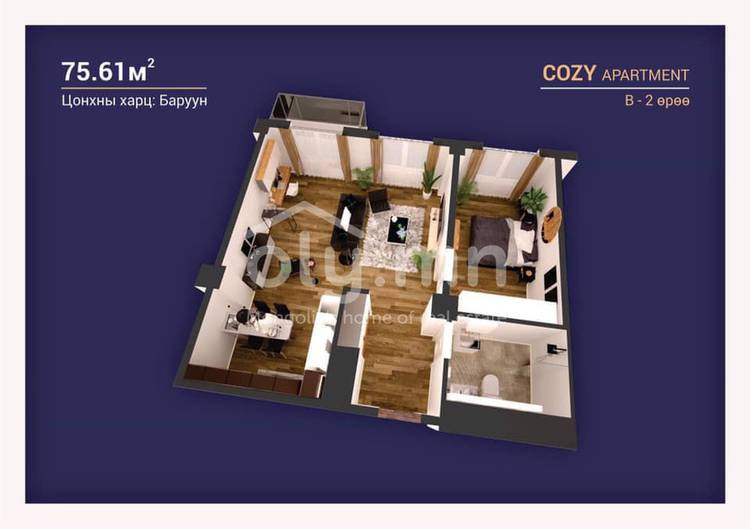 ID 2246, Khoroo 3 байршилд for sale зарын residential Apartment төсөл 1