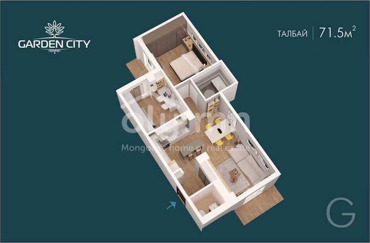 ID 2311, Khoroo 4 байршилд for sale зарын residential Apartment төсөл 1