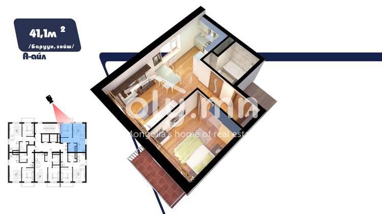 ID 2206, Khoroo 9 байршилд for sale зарын residential Apartment төсөл 1