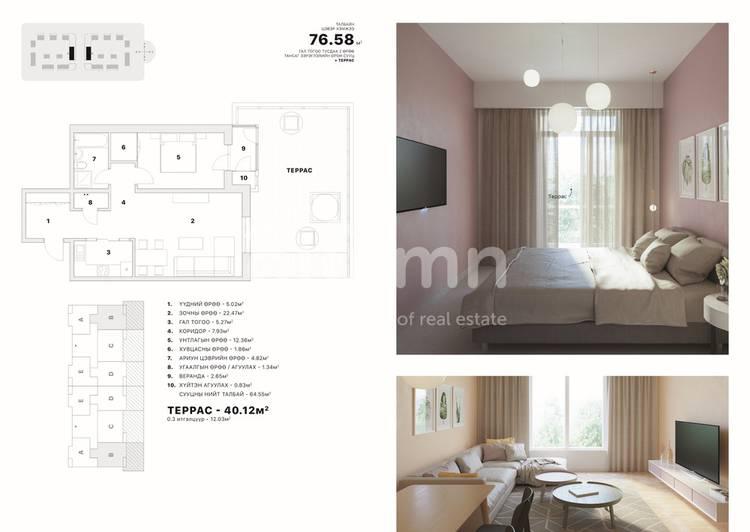 ID 2368, Khoroo 8 байршилд for sale зарын residential Apartment төсөл 1