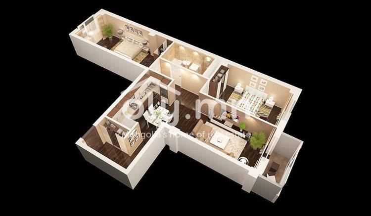 ID 2408, Bayangol байршилд for sale зарын residential Apartment төсөл 1