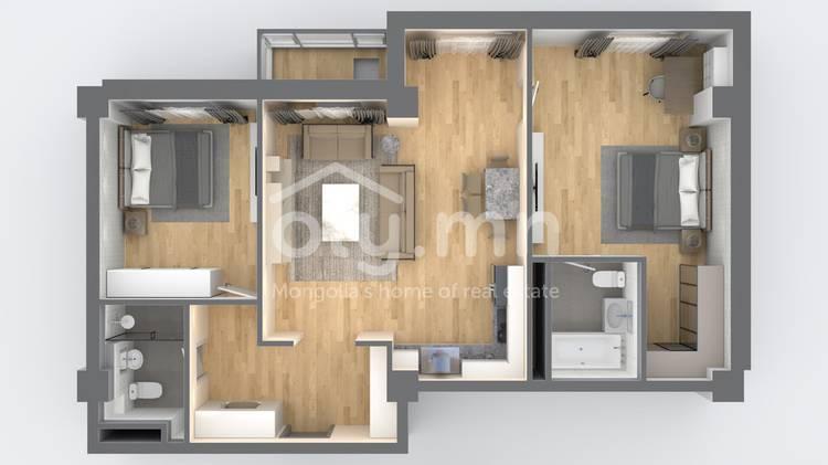 ID 2528, Khoroo 3 байршилд for sale зарын residential Apartment төсөл 1