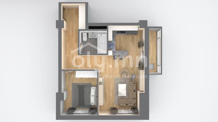 ID 2517, Khoroo 3 байршилд for sale зарын residential Apartment төсөл 1